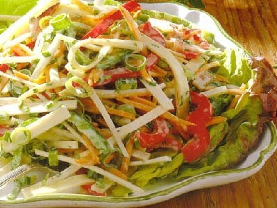 Салат из сельдерея для похудения рецепт с