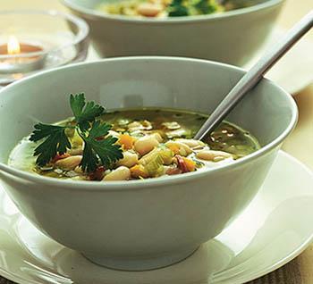 Как приготовить фасолевый суп с мясом